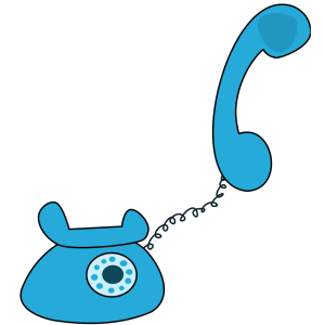 Cartoon Telephone icon png