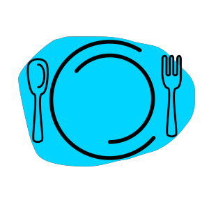 Knife And Fork Clipart icon png