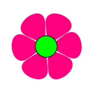 Pink Flower #2 icon png