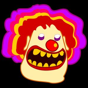 Cartoon Clown icon png