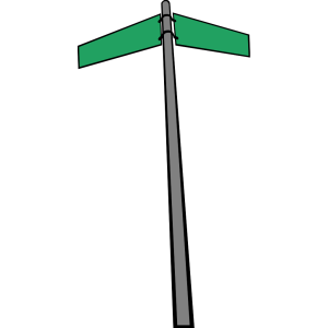 Wood Street Sign icon png