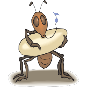 Ant Rocking Egg To Sleep icon png