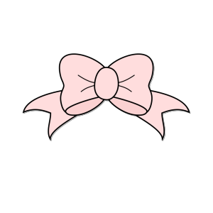 Pink Bow  icon png