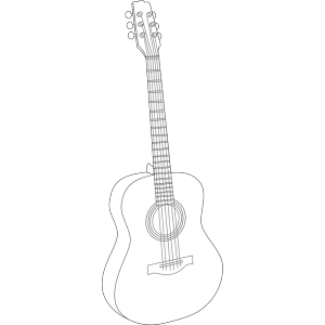 Black Guitar icon png