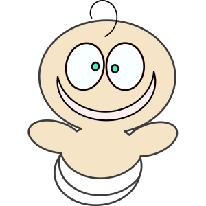 Really Happy Baby icon png