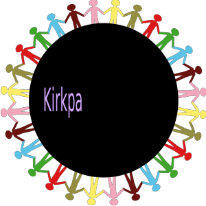 Circle Holding Hands Stick People Multi Coloured icon png