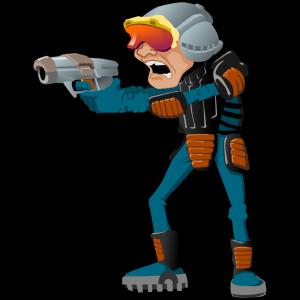 Sci Fi Cartoon Man icon png