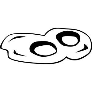 Fried Eggs (b And W) icon png