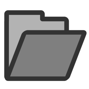 Open Folder icon png