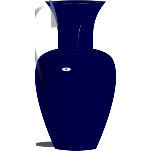Blue Glass Vase icon png