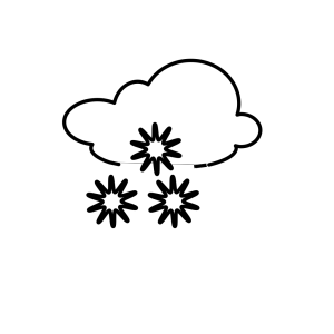 Snowy Outline icon png