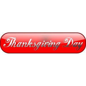Happy Thanksgiving Day Sign icon png