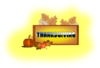 Thanksgiving With Pumpkin & Leaves icon png