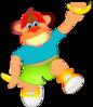 Monkey Holding Banana icon png