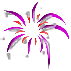Firework 2 Colors icon png
