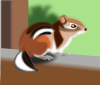 Cute Chipmunk design