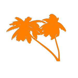 Vector Palm Trees icon png