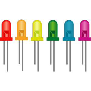 Diodos Led icon png