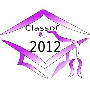 Class Of 2012 Graduation Cap icon png