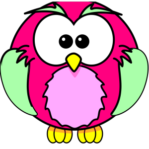 Pink Owl Olivia Birthday 3 icon png