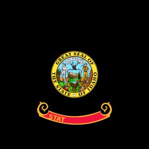 Us-idaho-flag icon png