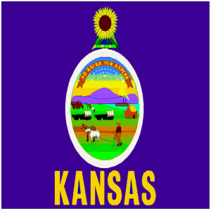 Flag Of Kansas icon png