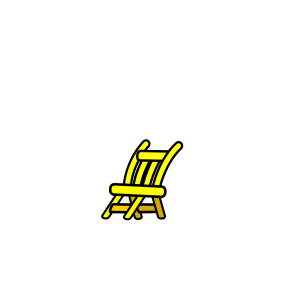 Wooden Chair icon png