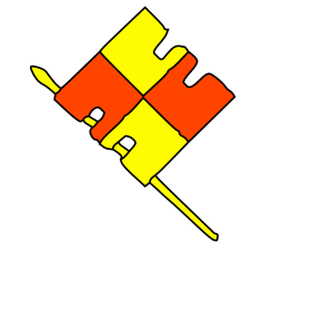 Red Yellow Flag icon png