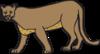 Walking Cougar icon png