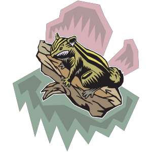 Stylized Chipmunk icon png