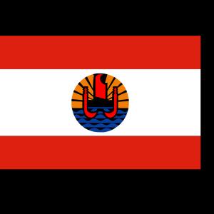 French Polynesia Flag icon png