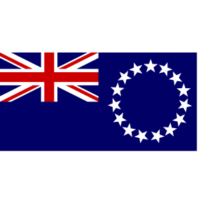 Cook Islands Flag icon png