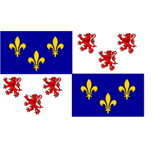 Flag Of Picardie icon png