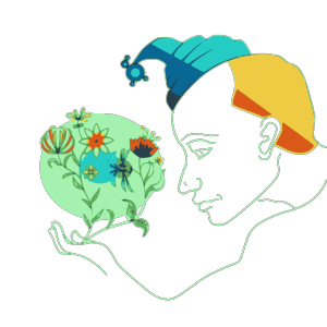 Holding Colour Flowers icon png