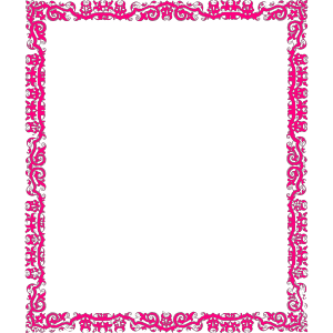 Decorative Pink Border icon png