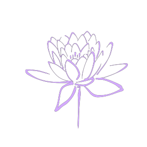 Purple Flower Haily icon png