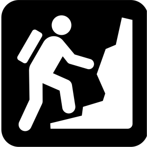 Rock Mountain Or Hill Climibing icon png