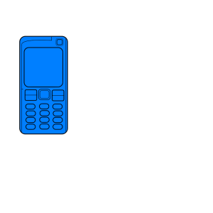 Cellphone icon png
