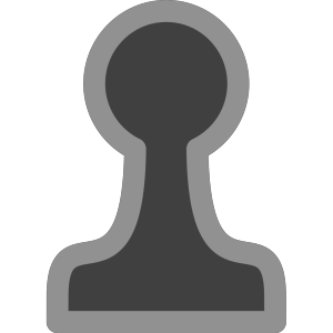 Chess Pawn Black icon png