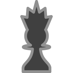 Chess Queen Black icon png