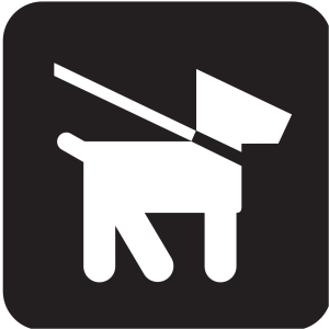 Keep Dogs On Leash icon png