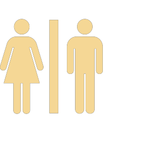 Men Women Bathroom icon png