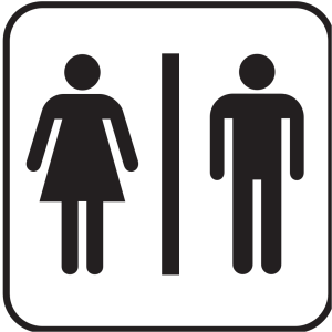 Men Women Bathroom 2 icon png