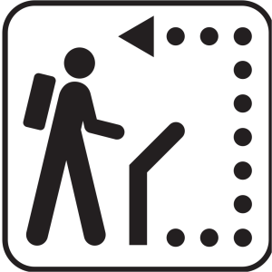 Trail Path icon png