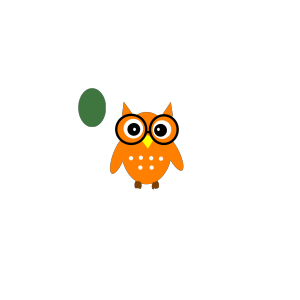 Owl On Book icon png