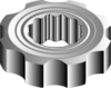 Gear flowers icon png