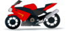 Motor Bike Trail Black icon png