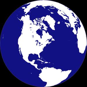 Poke globe icon png