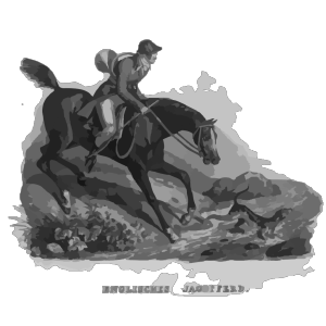 English Hunting Horse design
