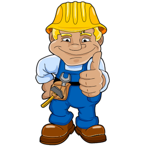 Blue Worker icon png